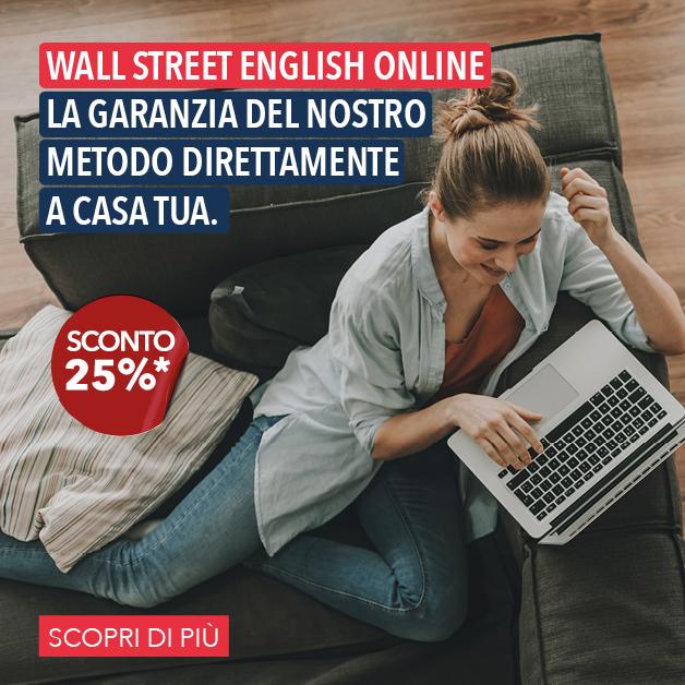 Wall Street English ti aspetta online